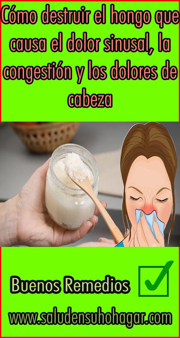 Congestión en el pecho dolor de cabeza presión sinusal