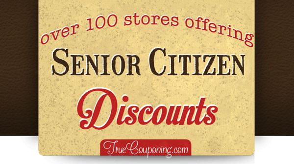 If you are a Senior, then you've paid your dues and now it's time to collect! Here's a list of stores offering Senior Discounts.
