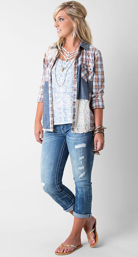 Hot To Crop - Women's Outfits   Buckle