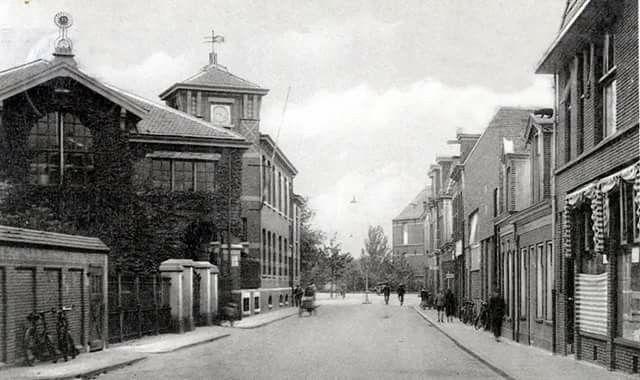 Bloemstraat Groningen eind jaren 30