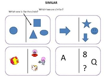 Pre-K/K cognitive activities and critical thinking