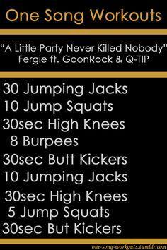"""A Little Party Never Killed Nobody"" workout! @Alex Jones Sheriff"