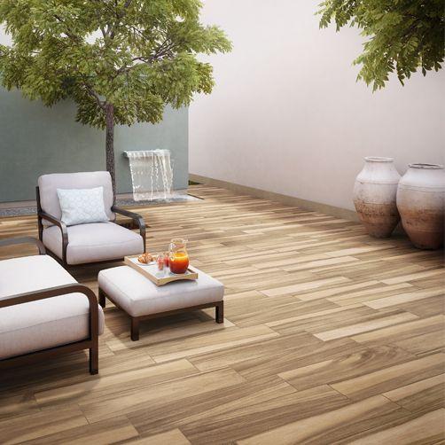 piso cermico esmaltado acabado mate diseo tipo madera aplicacin en piso interior