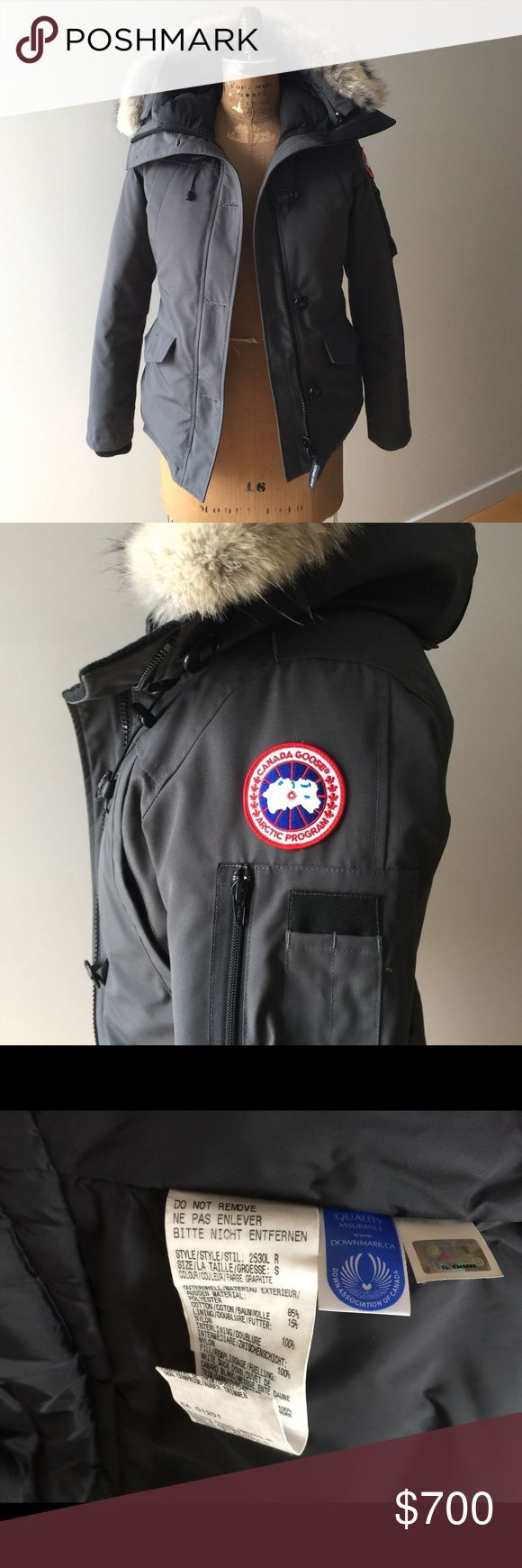 Authentic Canada Goose Montebello Parka Coat Worn maybe 3-4 times....Perfect Condition!!!! it's just to tight on me...need a Medium...Women's Small Canada Goose Jackets & Coats Puffers