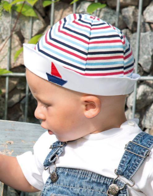 Matrosenhut nähen fürs Baby oder Kind - Schnittmuster und Nähanleitung via Makerist.de