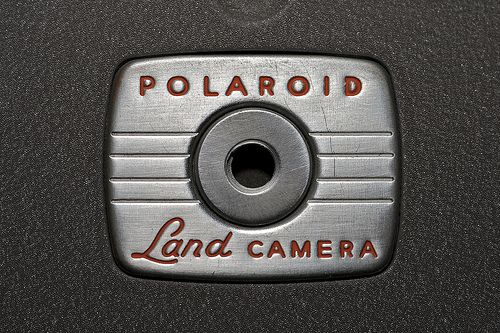 polaroid land camera...bring a fully functional camera to record once in a life time events, plus it is also crucial in case of accidents.