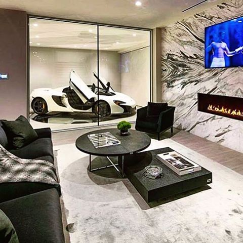 Pin By Kinta On Home Theaters In 2020 Garage Design Interior Loft Interiors Cars Room