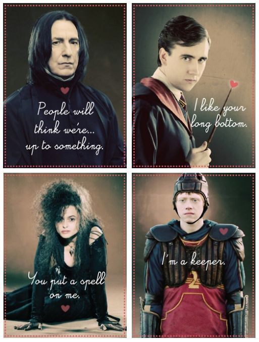 Best Cards Images On Pinterest Sherlock Holmes A Fan And - Hilarious harry potter valentines cards perfect special wizard life