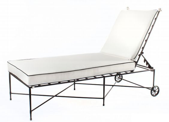 AMALFI CHAISE LOUNGE CHAIR   T10: Available With And Without Arms.