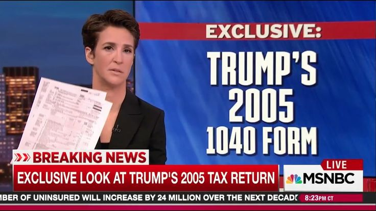 Rachel Maddow Releases Trump's Tax Returns in Biggest Over-Hyped Live TV Epic Fail in History - YouTube