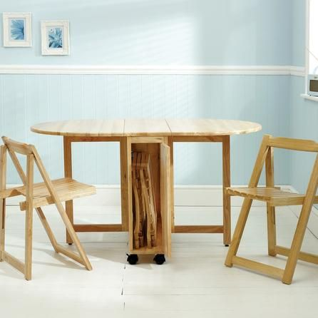 Rubberwood Butterfly Table With 4 Chairs Cradle Rocking Chair | Dunelm Mill Small Room Kitchen Tables Pinterest ...
