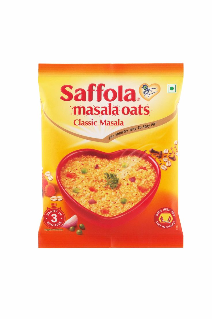 With wholegrain oats, carrots, onions and green peas, Classic Masala #Oats by Saffola is a delicious and healthy meal to have. Available on : Frank Ross Pharmacy App