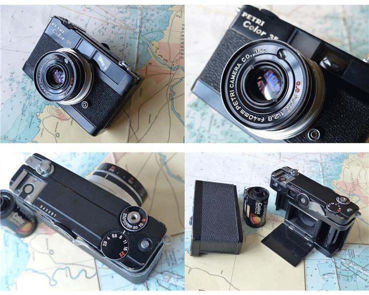 Petri Color 35, kompaktkamera för 35mm film för samlare på Tradera.com -