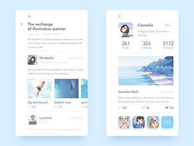 Illustrator Online Communication app