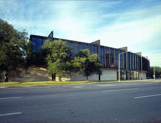 Mies van der Rohe - The Museum of Fine Arts, Houston