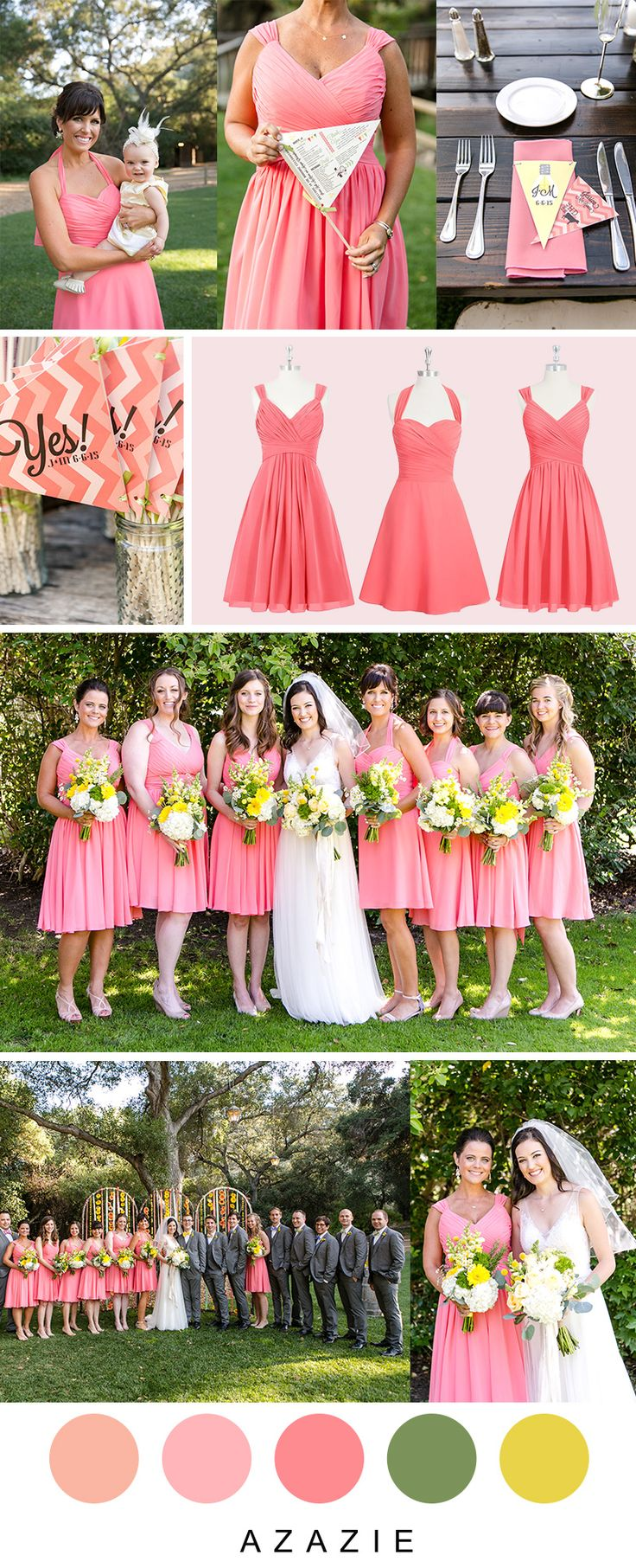 Gorgeous Color Palette For Your Special Spring I Dos Wedding Tip Order Swatches