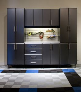 All drawer systems are made of heavy duty reinforced steel to support the weight of your tools and equipment.