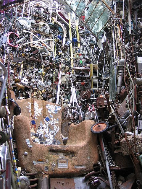 Throne Room - Cathedral of Junk - Austin, TX  by Mr. Kimberly, via Flickr