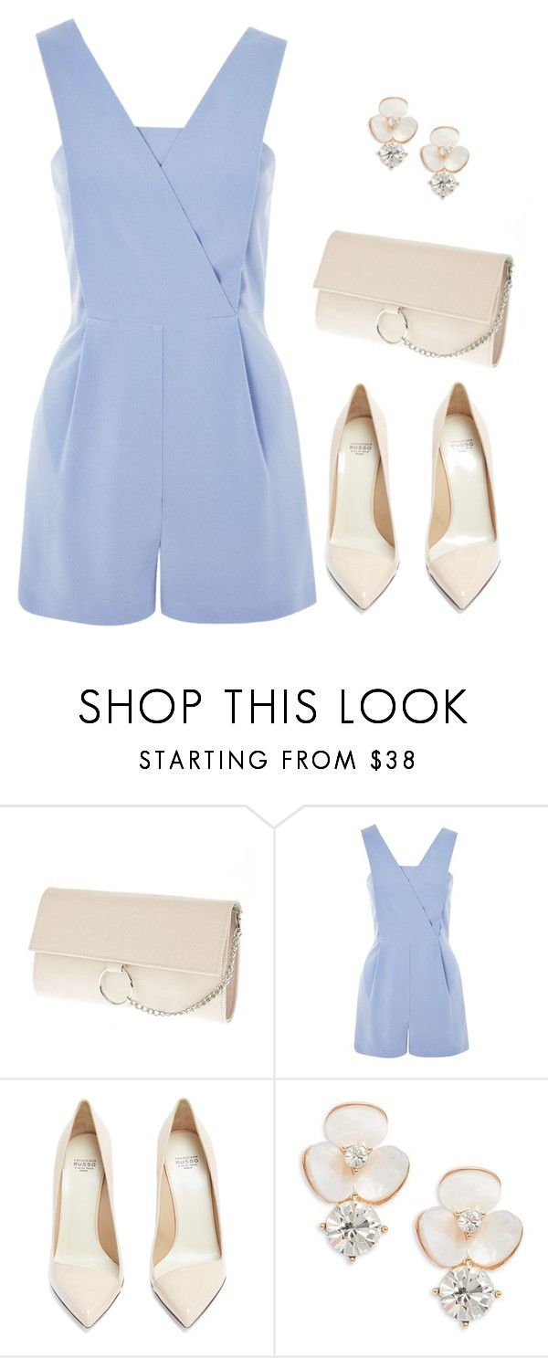 """oh hey"" by thefashionguilty on Polyvore featuring Topshop, Francesco Russo and Kate Spade"