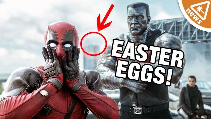 Deadpool Easter Eggs! (Nerdist News w/ Jessica Chobot)