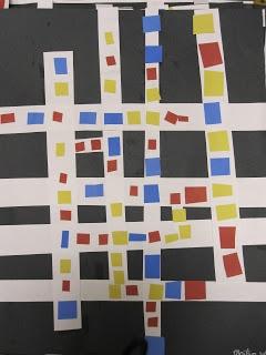 The Clever Feather Mondrian - Kindergarten