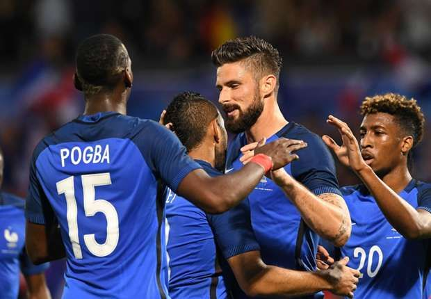 France 3-0 Scotland: Giroud answers critics as Euro 2016 host turns on the style