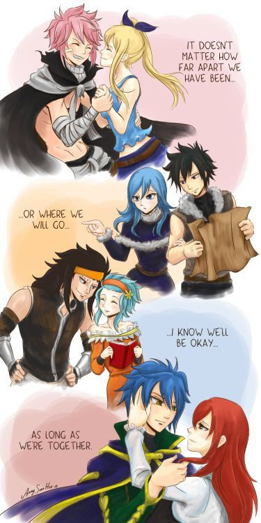 Fairy Tail ships~!