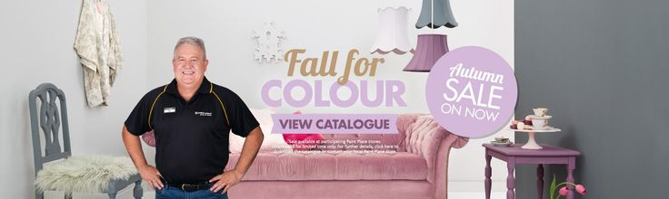 Fall for Colour with Paint Place's Autumn Catalogue.