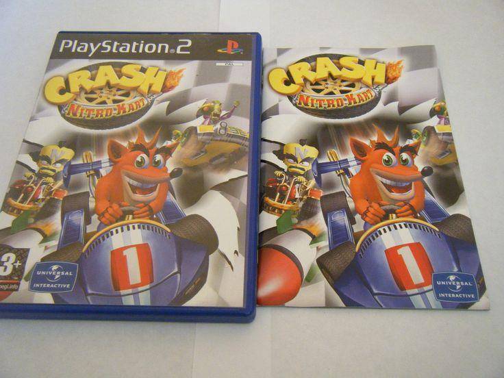 Crash Nitro Kart Sony Playstation 2 Complet Occasion PAL 02062672026 | eBay