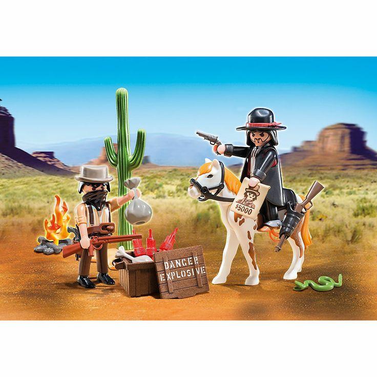 Playmobil Western Skrzynka western, 5608, klocki