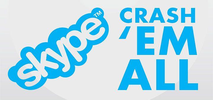 Mesajul buclucas care iti blocheaza aplicatia de mesagerie Skype