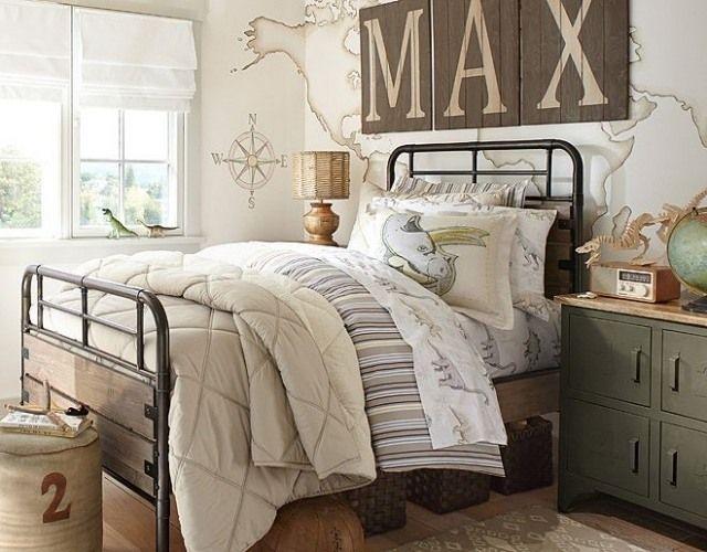 Die besten 25+ nautisches Schlafzimmer Ideen auf Pinterest - schlafzimmer mit metallbett