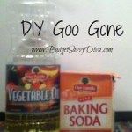 Fantastic Cleaning DIY – Homemade Goo Gone Recipe - the best one, and least complicated!!