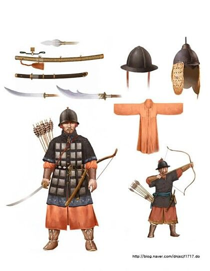 조선 초기 보병과 궁수 early J(Ch)oseon infantryman and archer