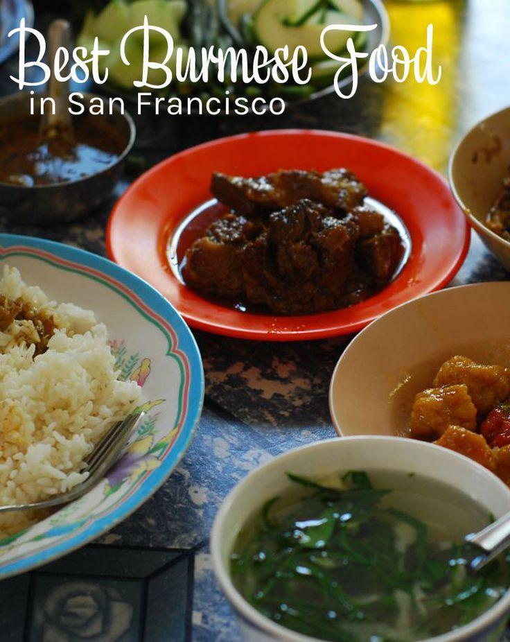 San Francisco restaurants - best Burmese food in San Francisco.