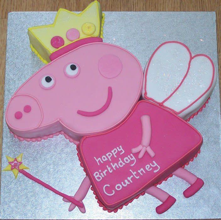 Princesse Peppa, pour l'anniversaire de Courtney, Courtney avait 20 ans! mais votre ne …  – Tori's 2nd Birthday