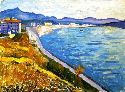 View of Saint-Jean-de-Luz Albert Marquet - circa 1907 (by BoFransson)