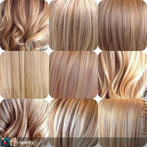 Different shades of blonde google search hair for Different shades of colors