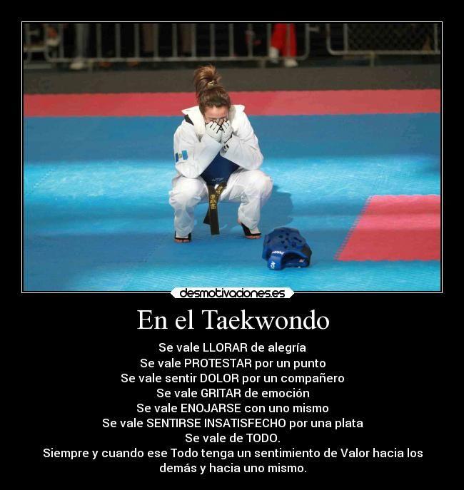 Imágenes Y Carteles De Taekwondo Pag 16 Desmotivaciones