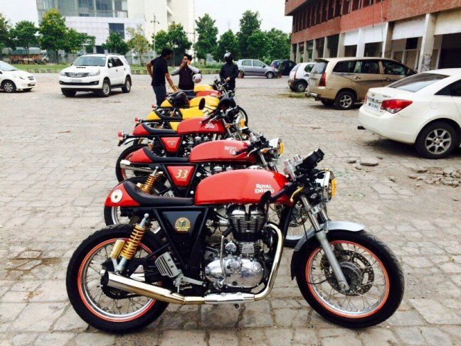 Royal Enfield Continental GT Modifications - Blogs - xBhp.com : The Global Indian Biking Community