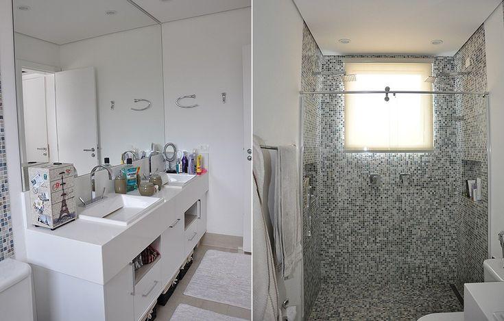 Conheça a casa do surfista Gabriel Medina  Gabriel, Cuba e Caixas -> Banheiro Com Banheira E Dois Chuveiros