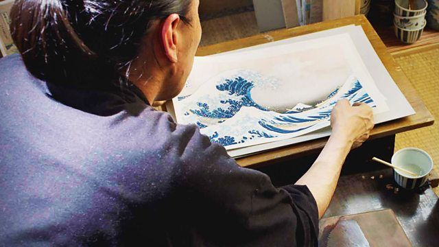 Biography of the Japanese artist Katsushika Hokusai, famous for his print The Great Wave.
