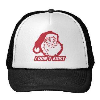 Santa Doesn't Exist Mesh Hats