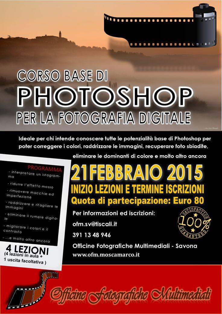corso fotoritocco photoshop Savona