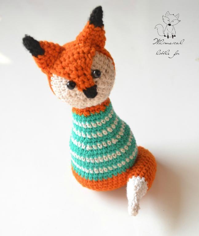 (4) Name: 'Crocheting : Freddy the fox amigurumi pattern $4.50
