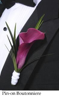 More purple calla lily