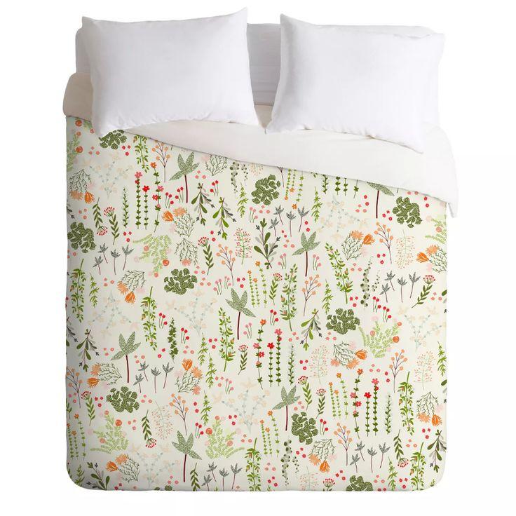 Iveta Abolina Goodness Floral Duvet Set Deny Designs Target