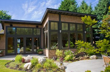 Northwest Contemporary Craftsman Exterior - contemporary - exterior - seattle - Paul Moon Design