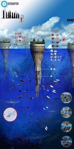 Water-Scraper: Underwater Architecture