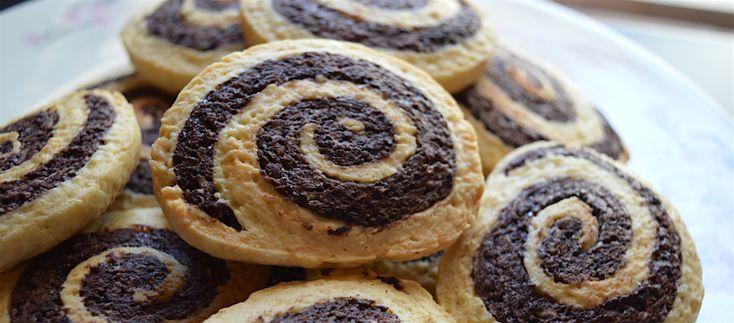 Ricetta biscotti: le girelle al cacao